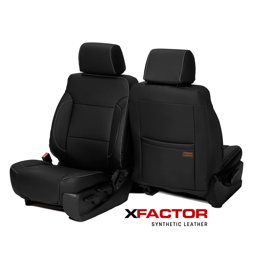 X-Factor Synthetic Leather Seat Covers   - Ford Super Duty (F-250, F-350+)
