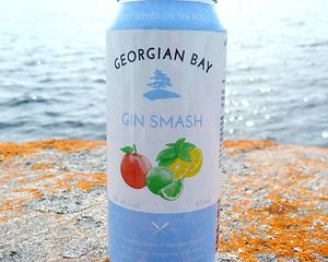 4-pack of Georgian Bay Gin Smash