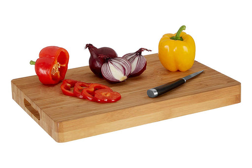 Pro Butchers Chopping Board with Handles - Bamboo