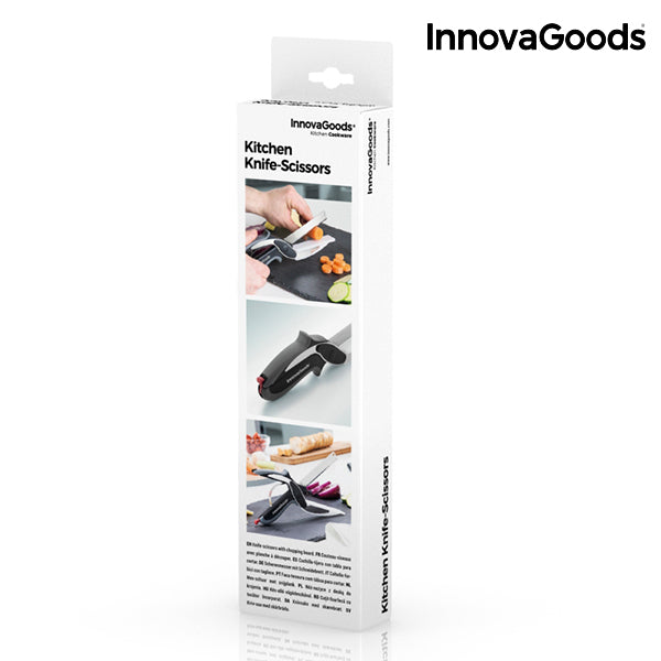 InnovaGoods Kitchen Knife-Scissors