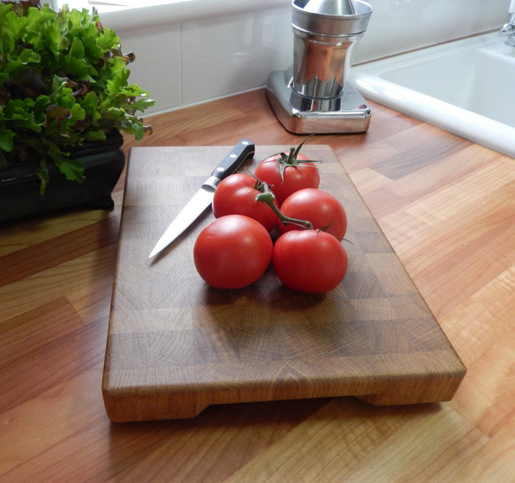 End Grain Cutting Board Oak - Chopping Board