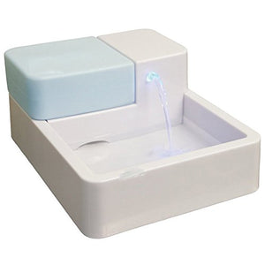 Uniclife Pet Water Fountain with LED Light