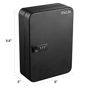 Uniclife Key Cabinet Combination Lock Black, 48
