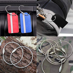 Wire Keychain Cable-6 inch-usage