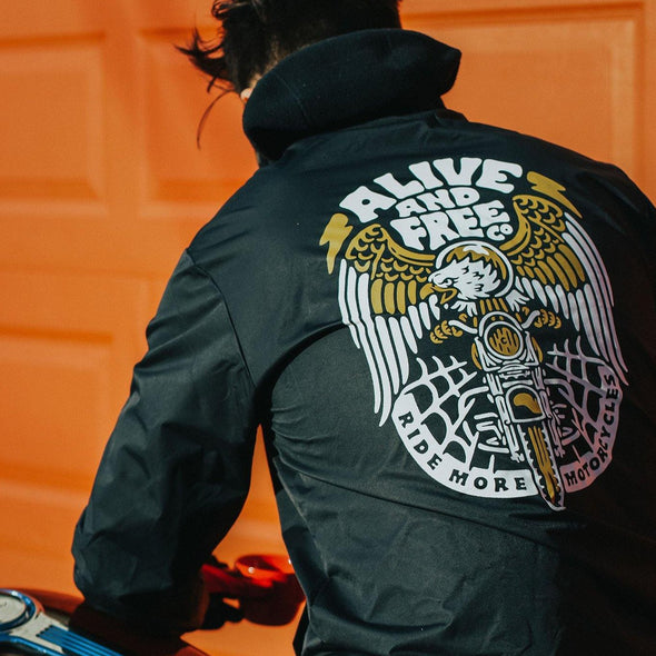 """Carpe Viam"" Coaches Jacket - A&fco"