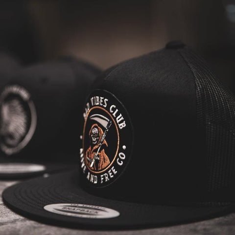 """Bad Vibes Club"" Trucker Snapback"