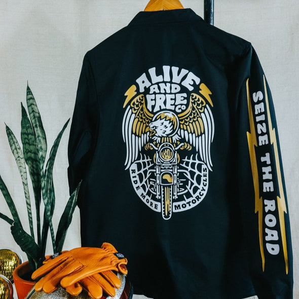 """Carpe Viam"" Coaches Jacket"