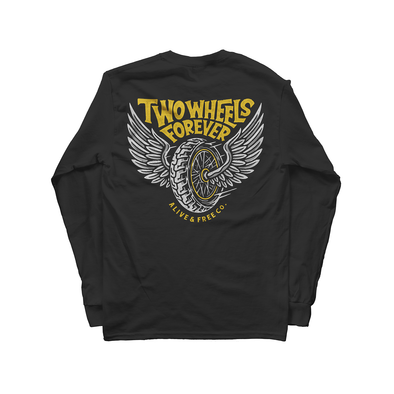 Two Wheels Long Sleeve