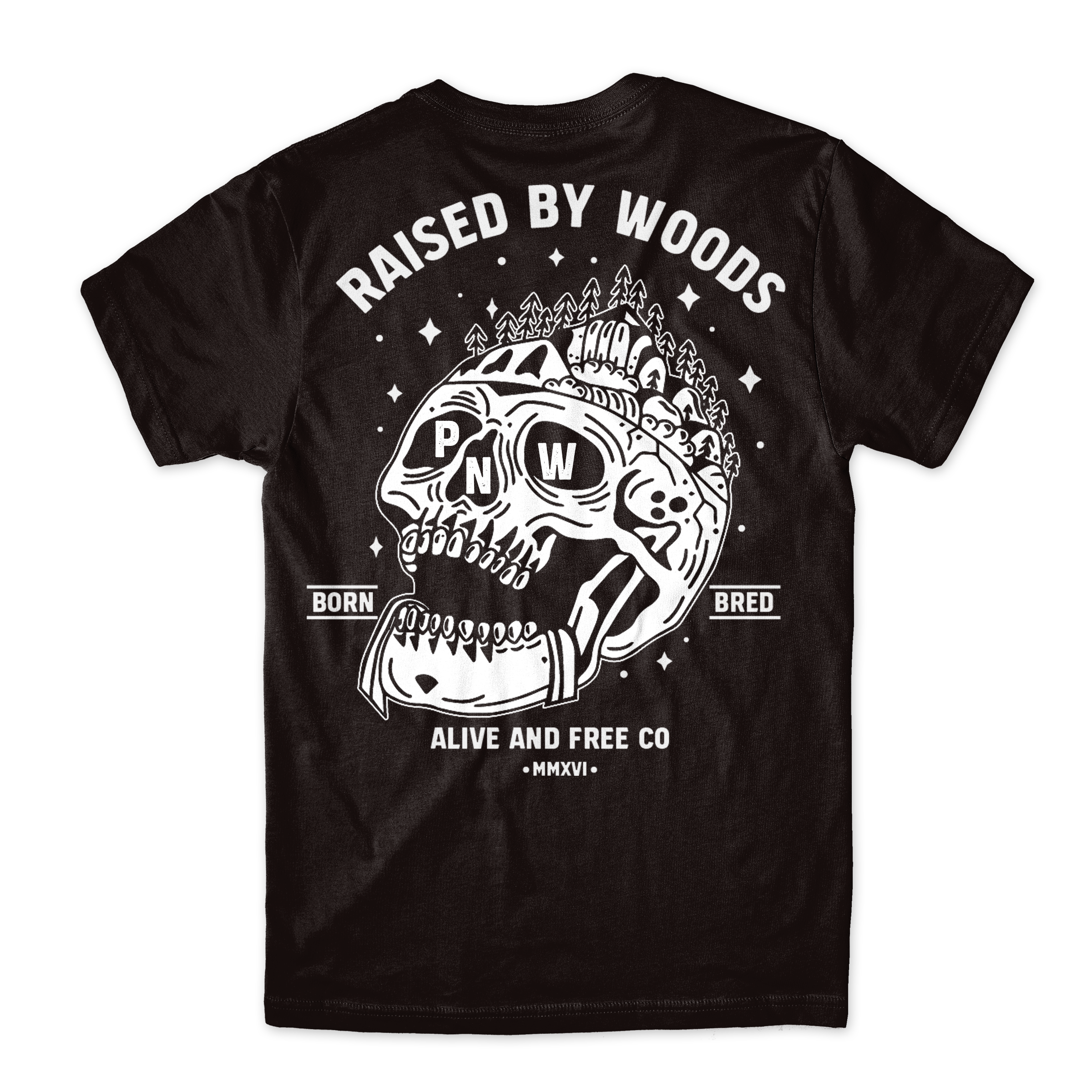 """Raised By Woods"" Tee"