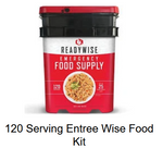 120 Serving Entree Wise Food Kit