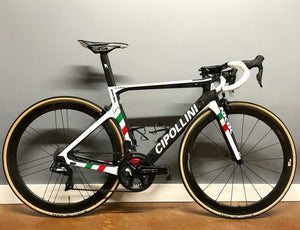 Hot Sell Carbon Cipollini NK1K DIY Carbon Road Complete Bike with original 5800/R8000 Groupset  50mm Road Carbon wheelset
