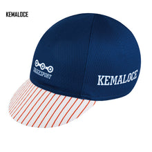 KEMALOCE 2018 White Skeleton Coolmax Pro Team Breathable Summer Cycling Cap Bike Hat With 5 Panels