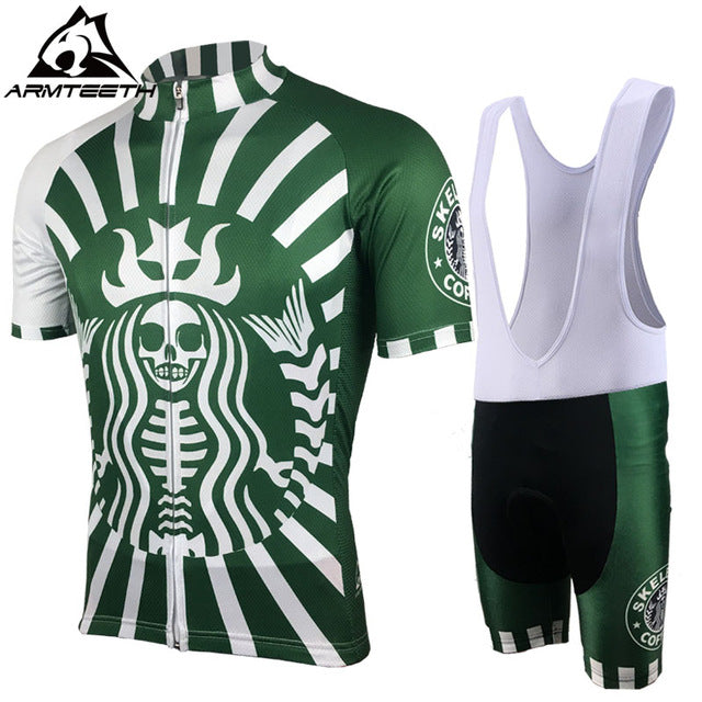 2017 Short Sleeve Cycling Sets MTB Clothing Breathable Bike Jerseys