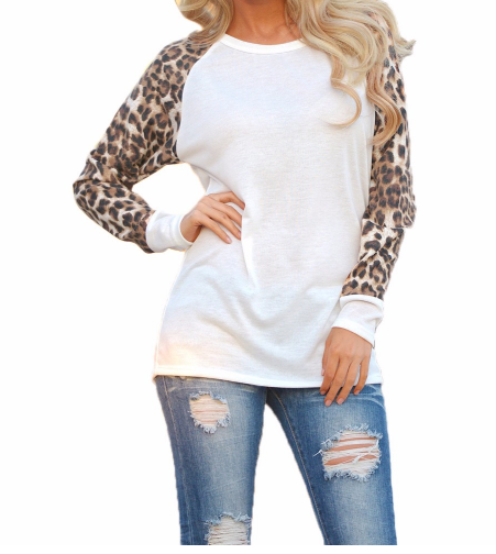 Leopard Loose Casual Blouse