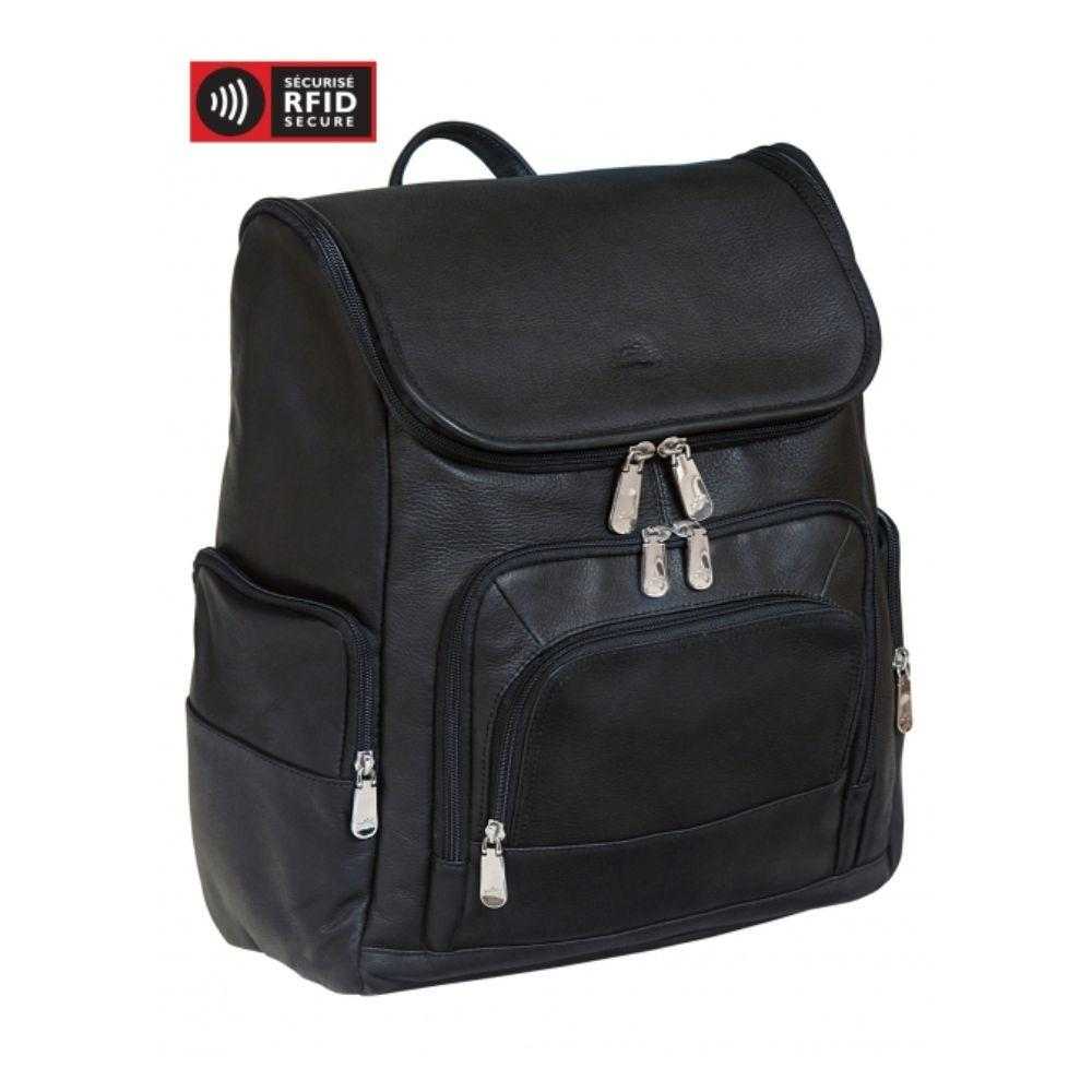 Backpack with RFID Secure pocket for 15.6