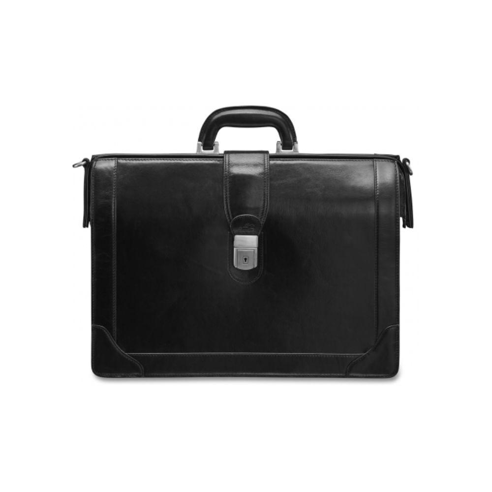 Vanizia Luxurious Laptop Compatible Litigator Briefcase with RFID Secure Pocket