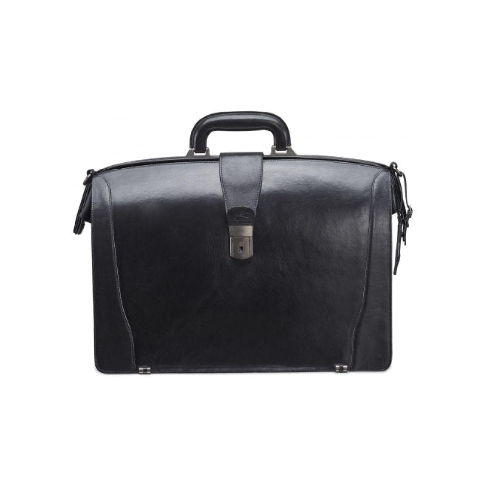 Vanizia Laptop Compatible Litigator Briefcase with RFID Secure Pocket