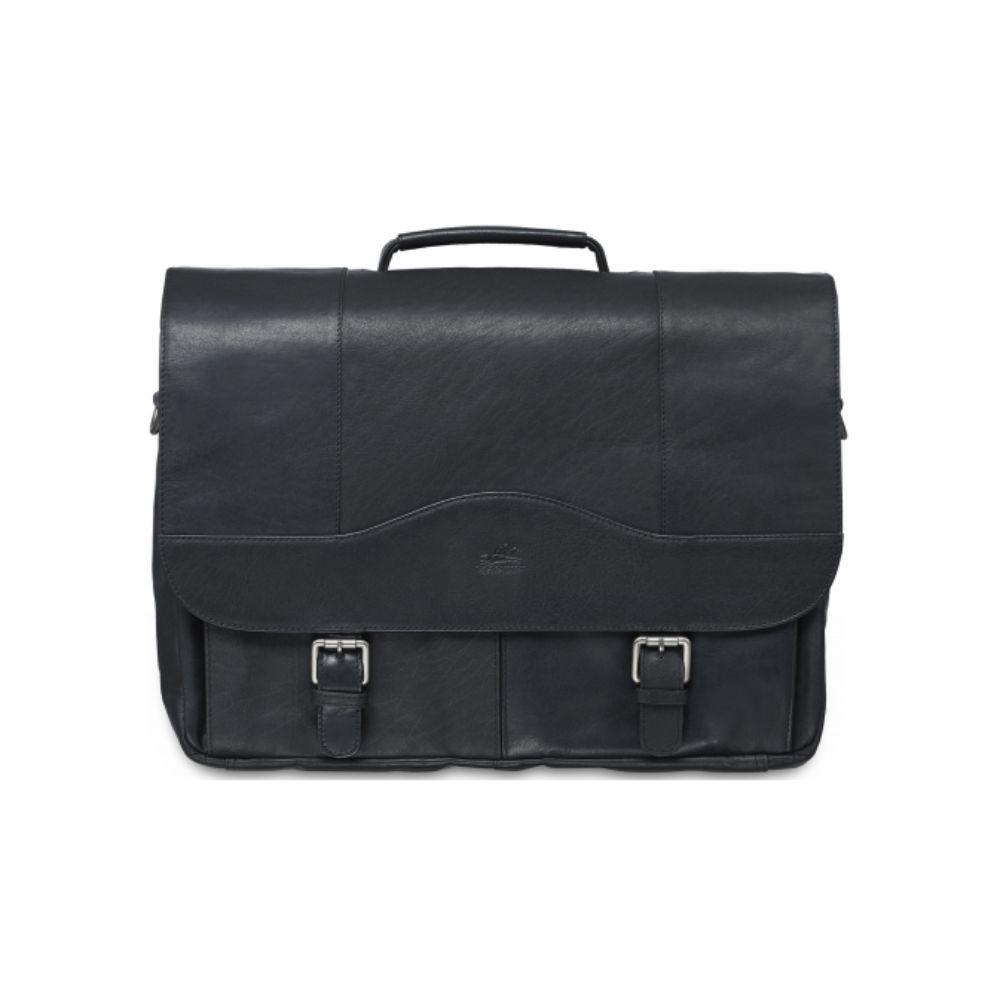 "Porthole Briefcase for 15.6"" Laptop / Tablet with RFID Secure Pocket"
