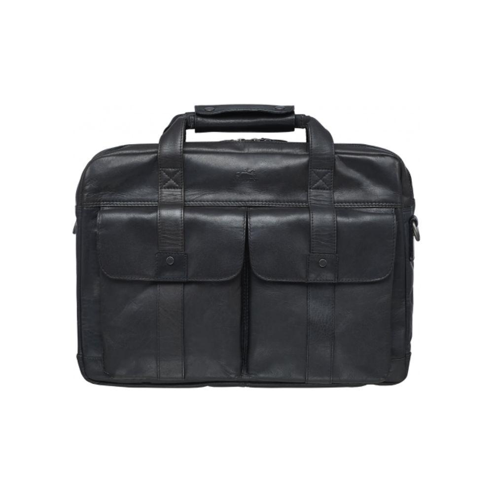 Double Compartment Briefcase for 15.6