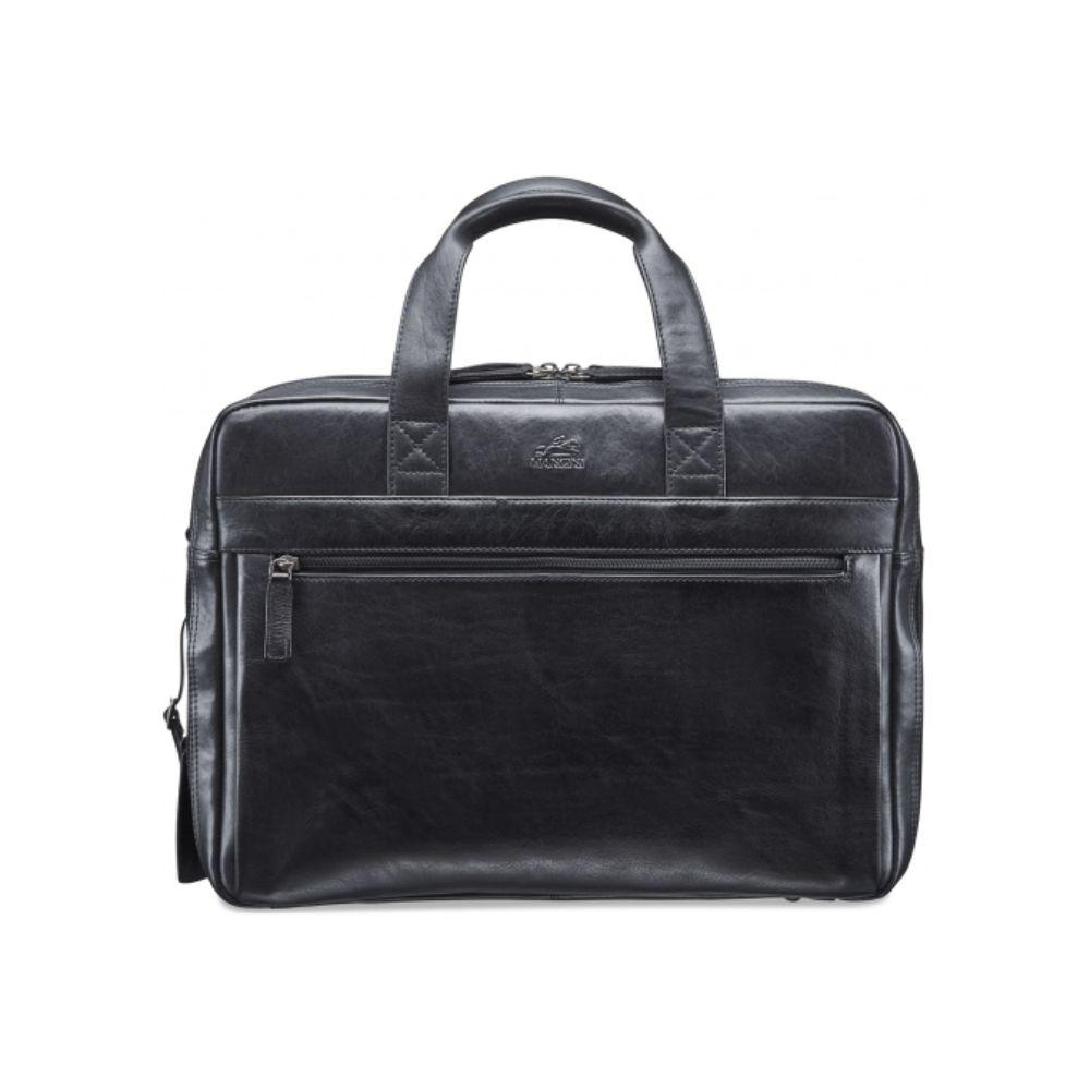 Vanizia Laptop / Tablet Compatible Double Compartment Briefcase with RFID Secure Pocket