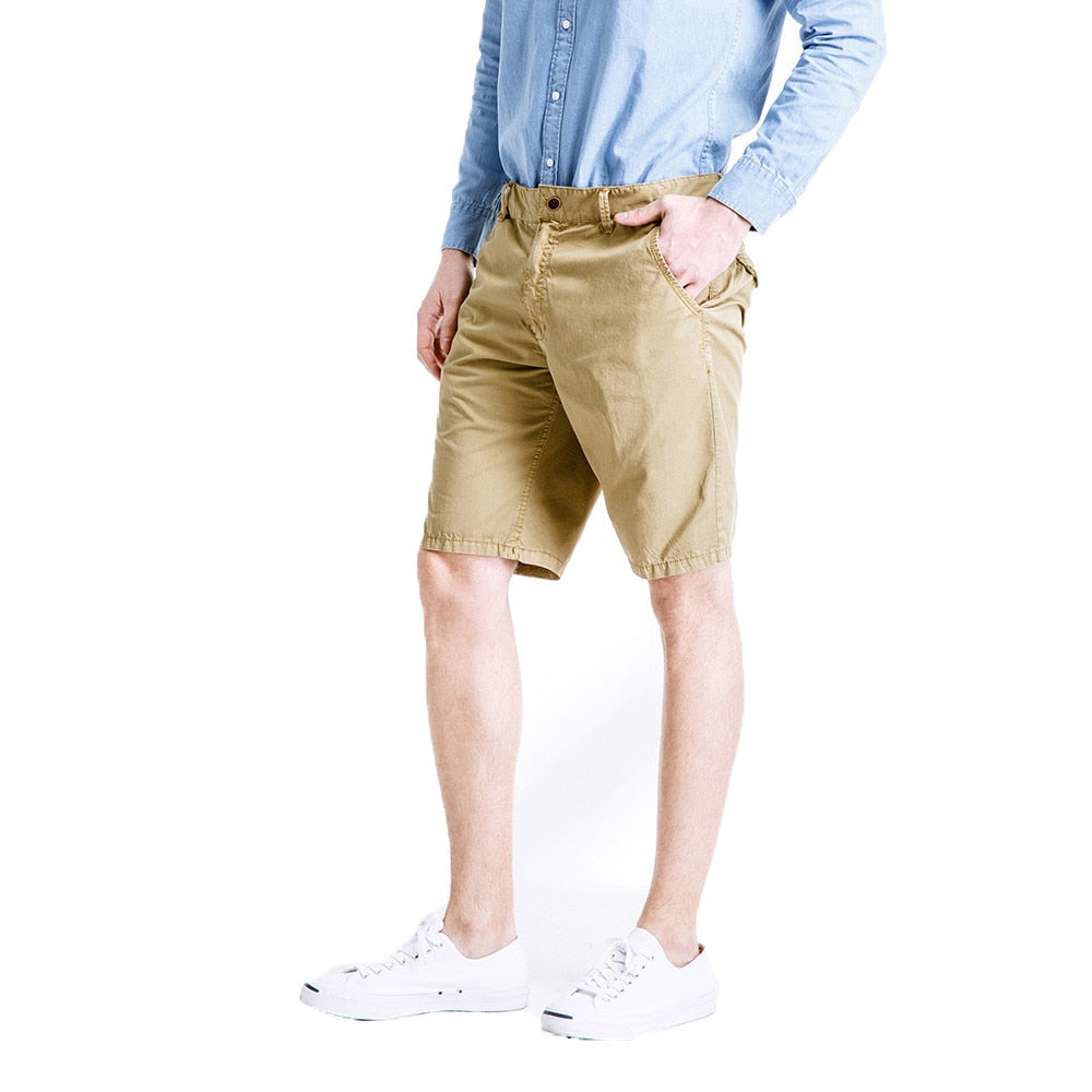Casual Khaki Shorts