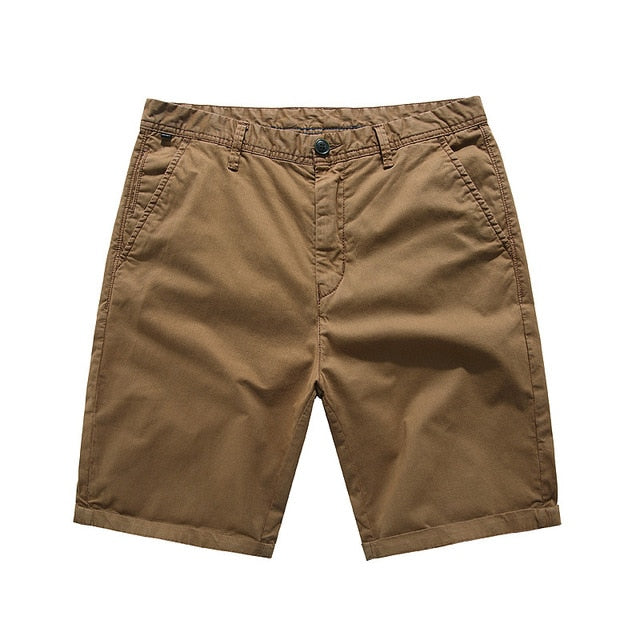 Casual Cuffed Summer Shorts