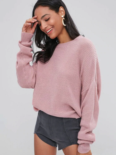 Chunky Knit Loose Sweater