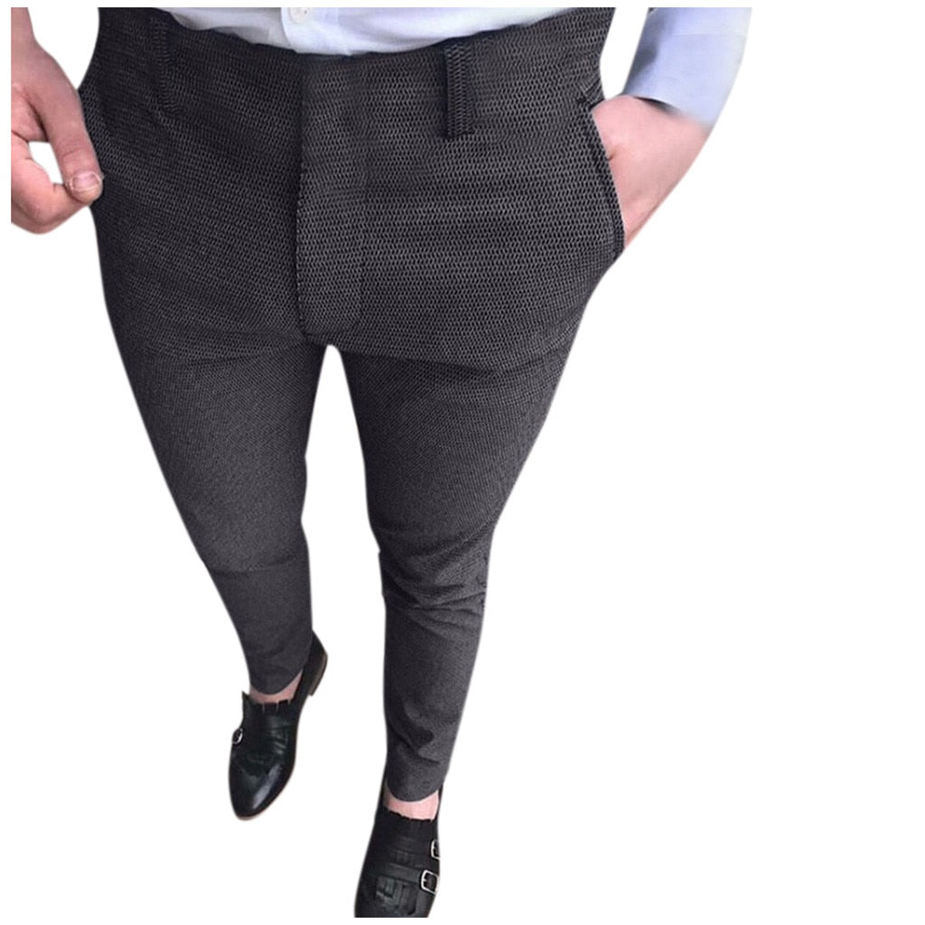 Slim Suit Pants