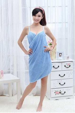 Microfiber Wearable Sexy Women Towel