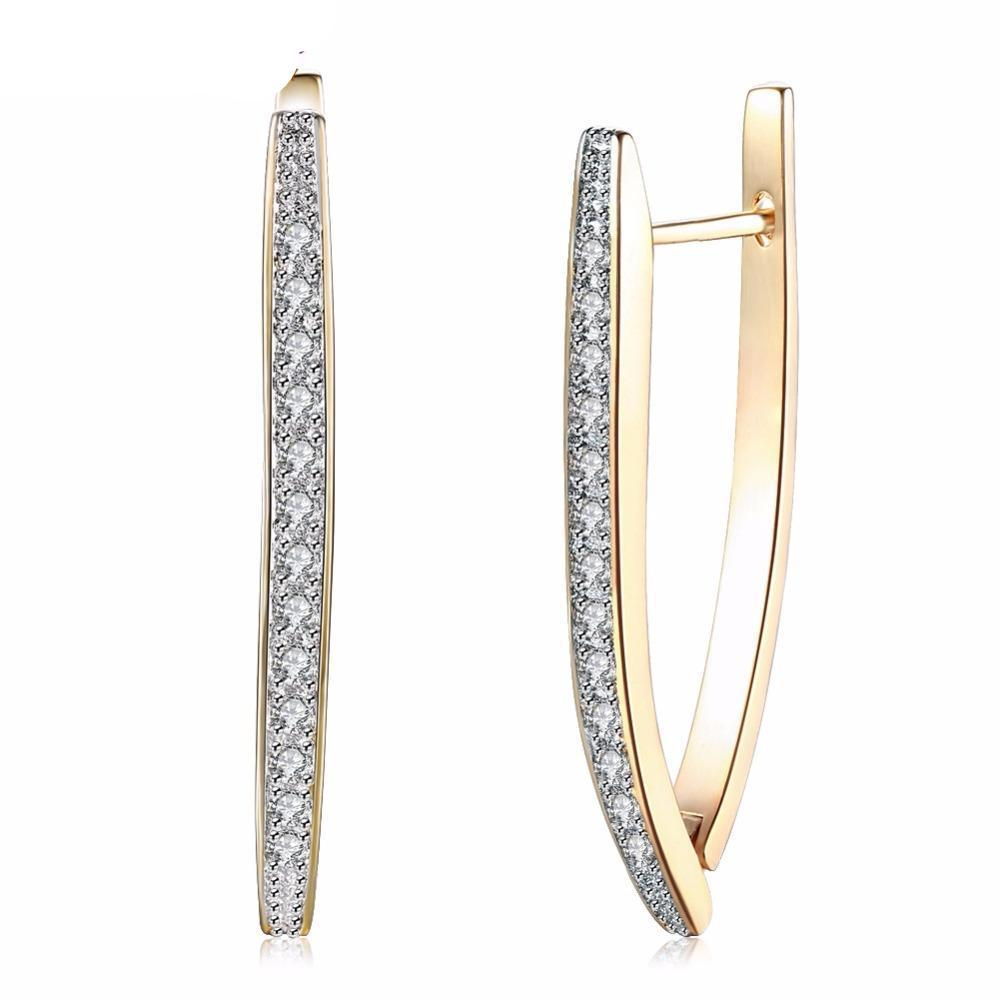 Iconic Gold-Color Hoop Earrings