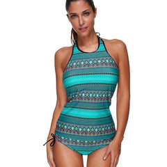 Printed Up One-Piece Swimsuit