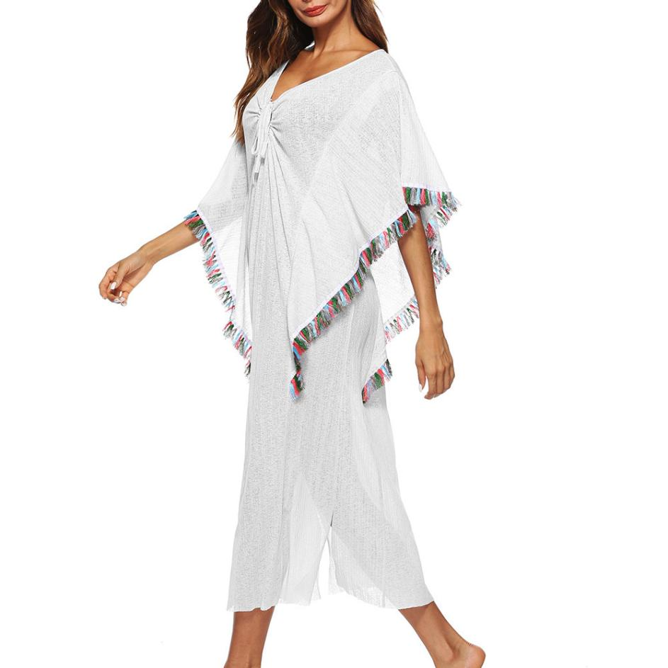 Fringe Beach Cover Up
