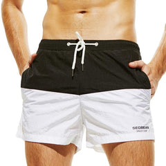 Two-Tone Swimming Trunks