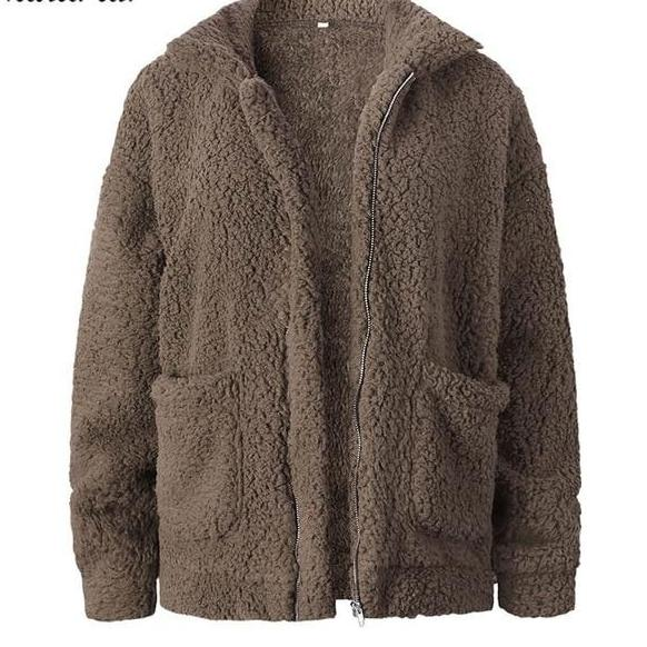 Shearling Fur Women Teddy Coat