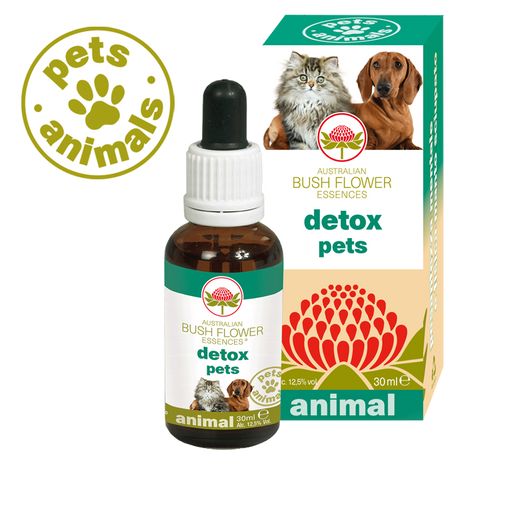 Animal essences - Detox Pets - Green Remedies