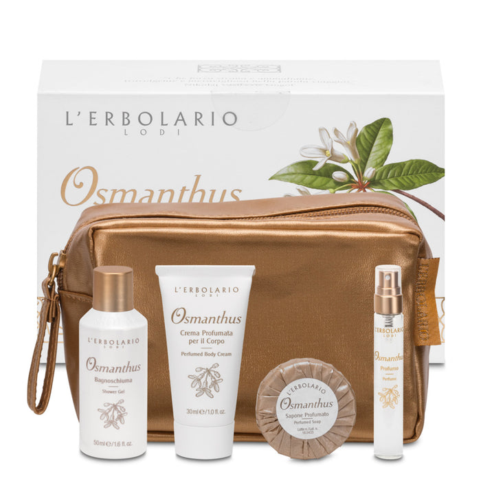 Erbolario Osmanthus beauty set viaggio