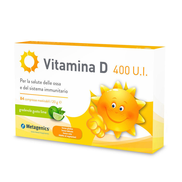 Metagenics Vitamina D 400 UI