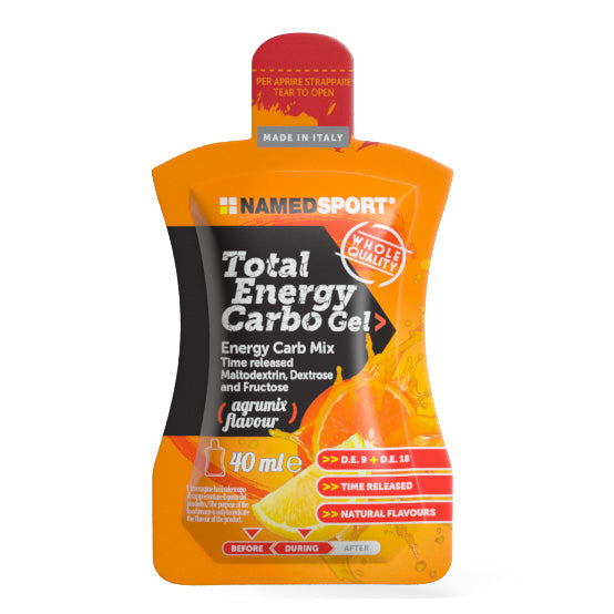 Named sport Total energy carbo gel