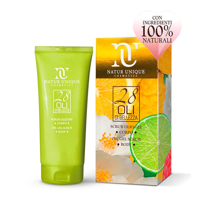 Natur unique cosmetics 28 Oli Fragranza Lime Scrub Olio gel