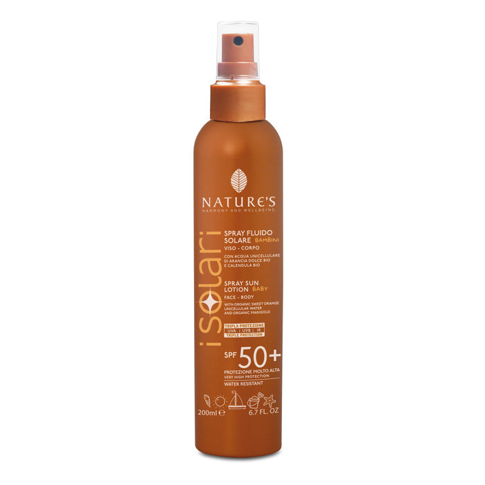Nature's Spray fluido SPF50+ bimbi