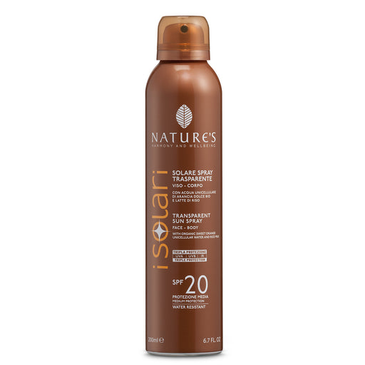 Nature's Spray trasparente SPF20