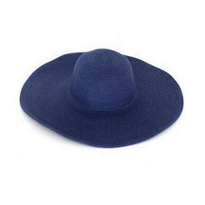 Women's Large Brimmed Straw Sun Hat