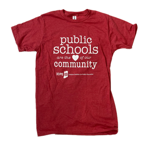 Indiana Coalition for Public Education shirt