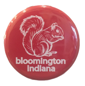 Bloomington Squirrel Button