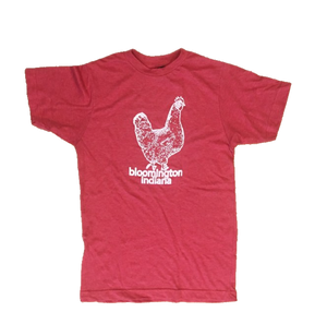 Bloomington Indiana Chicken T-shirt