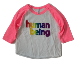 Human Being Pride Baby Baseball T-shirt
