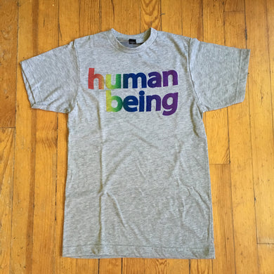 gay pride shirt human being