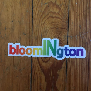 Bloomington Indiana Pride sticker | badkneesTs