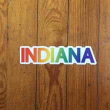Indiana pride sticker | badkneesTs