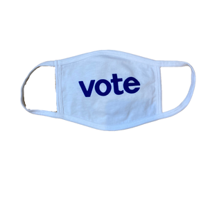 Vote Blue Shirt and Mask